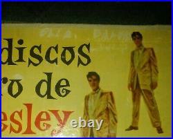ELVIS PRESLEY 100.000.000 fans URUGUAY Golden records 2 DOUBLE NUMBER WEEEIIRD