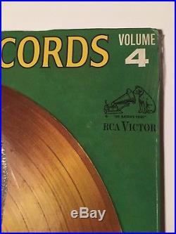 ELVIS' PRESLEY 12 Sealed Record Album ELVIS' GOLD RECORDS Volume 4 RCA LPM-3921