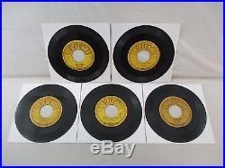 Elvis Presley 1954-1955 Complete Set Of 5 Original Sun 45 209 210 215 217 223 7