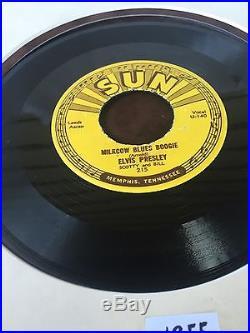Elvis Presley 1955 Original Sun 45 Milkcow Blues Boogie You're A Heartbreaker