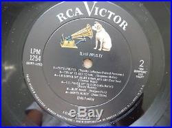ELVIS PRESLEY 1956 Debut Album LPM-1254 Vinyl Record First Pressing USA vg++