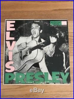 ELVIS PRESLEY 1956 First Lp 1ST VERSION LPM 1254 RCA Pale Pink Orig VPI CLEAN