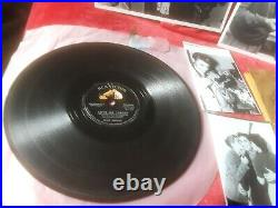 ELVIS PRESLEY 1956 SIGNED RECORD SLEEVE AND RECORD ORIGINAL VINTAGE 78 1950s