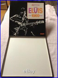 ELVIS PRESLEY 1969 INTERNATIONAL HOTEL BOX COMPLETE WithSEALED LP'S MEGA RARE NM