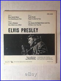 ELVIS PRESLEY. 2 disk 45 RPM EP with Gatefold Cover RCA EPA-1254 Promo