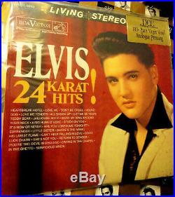 ELVIS PRESLEY 24 KARAT HITS! DCC Audiophile Vinyl 2 LP Ltd. Ed #'d SEALED RARE