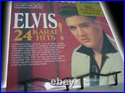 ELVIS PRESLEY 24 KARAT HITS Rare DCC 2OTH ANNIVERSARY EDITION NUMBERED 2 LP Set