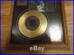 ELVIS PRESLEY 24 KT. GOLD RECORD SPECIAL EDITION PLAQUE FRAMED Hound Dog