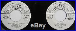 ELVIS PRESLEY 2X 45 EP Blue Suede Shoes VG++ Rockabilly PROMO Repress mg49
