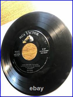 ELVIS PRESLEY 2x 45 Promo LPM 1254 EPB EPA 747 RCA PERSONALITY 12 Songs DJ Ep
