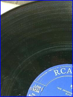 ELVIS PRESLEY (33 RPM Canada) ELVIS PRESLEY (MEGA-RARE BLUE LABEL) lpm 1253
