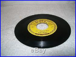 ELVIS PRESLEY 45 RPM SUN RECORD BABY LET'S PLAY HOUSE 1955 ORIGINAL With PUSHMARKS