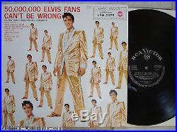 ELVIS PRESLEY 50,000,000 Elvis Fans. Vol. 2 German black RCA LPM 2075 MINT
