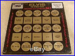 ELVIS PRESLEY 50 GOLD AWARD HITS, VOL. 2 1971 RCA LPM-6402 WithTHE INSERTS