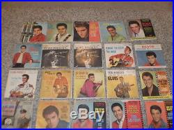 Elvis Presley 7 52 Original Us Singles
