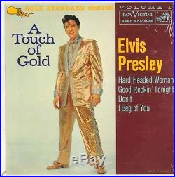 ELVIS PRESLEY A TOUCH OF GOLD Vol. 1 FACTORY SEALED 1968 ORANGE LABEL 5088
