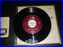 ELVIS PRESLEY-A Touch Of Gold Vol. 1 Ep 45+Cardboard Sleeve-RCA VICTOR #EPA-5088