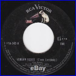 ELVIS PRESLEY ANN MARGRET Asi se baila el Climb 45 RCA FTA 1964 EX PERU