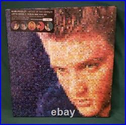 ELVIS PRESLEY Artist Of The Century 5 Picture Disc Vinyl LP BOX SET BMG 1999 NM