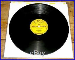 ELVIS PRESLEY BABY LET'S PLAY HOUSE b/w I'M LEFT YOU'RE RIGHT USA SUN 78 RPM V+