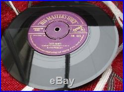 ELVIS PRESLEY BLUE SUEDE SHOES / TUTTI FRUTTI UK GOLD HMV 7 1956 ex condition