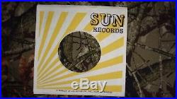 ELVIS PRESLEY Baby Let's Play House 45 VINYL RECORD Sun 217 VG Stickered U-143