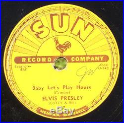 ELVIS PRESLEY Baby Let's Play House 78 on SUN 217 original rockabilly