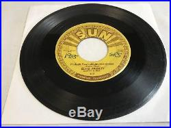 ELVIS PRESLEY Baby Lets Play House/ Im Left 45 SUN Records 217