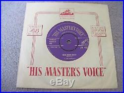 ELVIS PRESLEY Blue Suede Shoes 1956 GOLD HMV superb EX++
