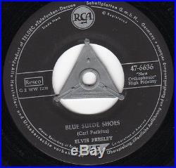 ELVIS PRESLEY Blue Suede Shoes/Tutti Frutti ORIGINAL GERMAN RCA S2 PRESSING