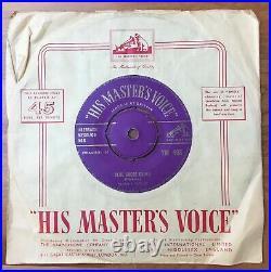 ELVIS PRESLEY Blue Suede Shoes / Tutti Frutti UK 1st GOLD HMV 7M 405 7 45 VINYL