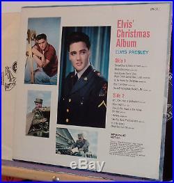 ELVIS PRESLEY CHRISTMAS ALBUM ORIGINAL 1958 RARE CANADIAN COPY MINT- LP
