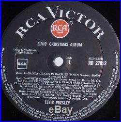 ELVIS PRESLEY CHRISTMAS ALBUM ORIGINAL BRITISH COPY MINT- LP