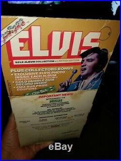 ELVIS PRESLEY CHU-BOPS bubble gum records with retail store display box 64 pcs
