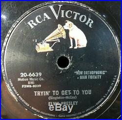 ELVIS PRESLEY COMPLETE RCA Set Of 24 78 RPMS Including One Night