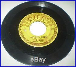 ELVIS PRESLEY COMPLETE SET Sun Records 45 RPM 209 210 215 217 223