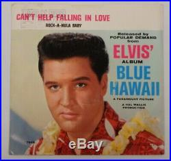 ELVIS PRESLEY Can't Help Falling In Love/ Rock-A-Hula RARE 7 RCA Victor 37-7968