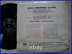 ELVIS PRESLEY Christmas Album NEW ZEALAND 1st PRESS RCA BLACK LABEL LOC 1035