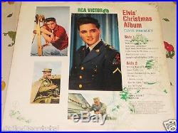 ELVIS PRESLEY Christmas Album Peru Edition, Spanish Titles, Very Rare Lp (EX-)