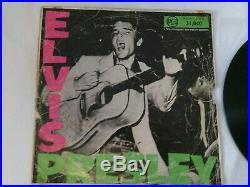 ELVIS PRESLEY DEBUT LP BLACK RCA Original 1956 SOUTH AFRICA LPM 1254 MONO