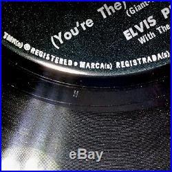 ELVIS PRESLEY Devil In Disguise 45 Misprint 47-8188 EXCELLENT