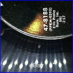 ELVIS PRESLEY Devil In Disguise 45 Misprint 47-8188 NEAR MINT