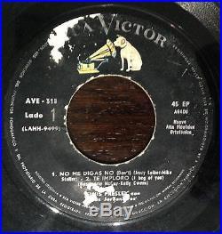 Elvis Presley El Incomparable. Ps Ep 7 With Cover Rare Uruguay