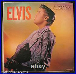 ELVIS PRESLEY-ELVIS-1957 First Pressing-1s in Trailoff-RCA VICTOR #LPM 1382