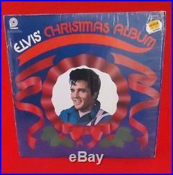 ELVIS PRESLEY ELVIS' CHRISTMAS ALBUM Vinyl LP PICKWICK Record CASA-2428