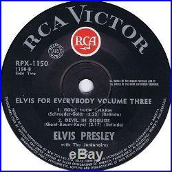Elvis Presley Elvis For Everybody Volume 3 Ep New Zealand
