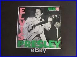 Elvis Presley Elvis Presley Rca Lpm 1254 Long Play Label 1956