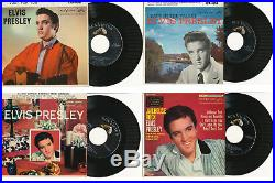 ELVIS PRESLEY EP Collection 23 x US RCA EP's in Mint bis Mint- condition