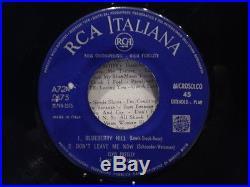 Elvis Presley Ep I Need You So Italy Rca Italiana A72 V0175