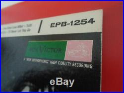 ELVIS PRESLEY EPB-1254 2x7 RCA 1956 GTFLD White Label Promo SUPERB SET